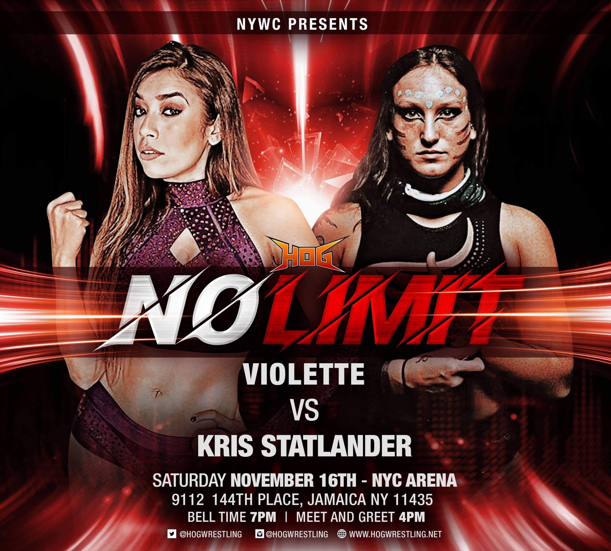 #Preview: House Of Glory Presents No Limit (11/16/19)