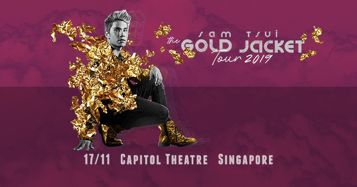 2 Weeks more till @SamuelTsui live in Singapore. Get Tickets  - https://t.co/ln4AuRErOA https://t.co/Fbjt0gZK29