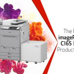 Image for the Tweet beginning: Introducing the imagePRESS Lite C165,