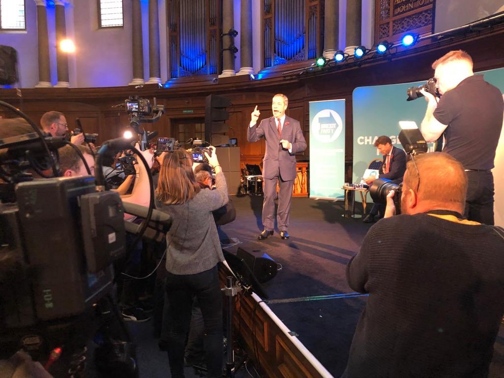 No person has done more for the Eurosceptic cause than @Nigel_Farage. Millions will listen to his opinion. A vote for the Brexit Party is a vote for a proper Brexit.