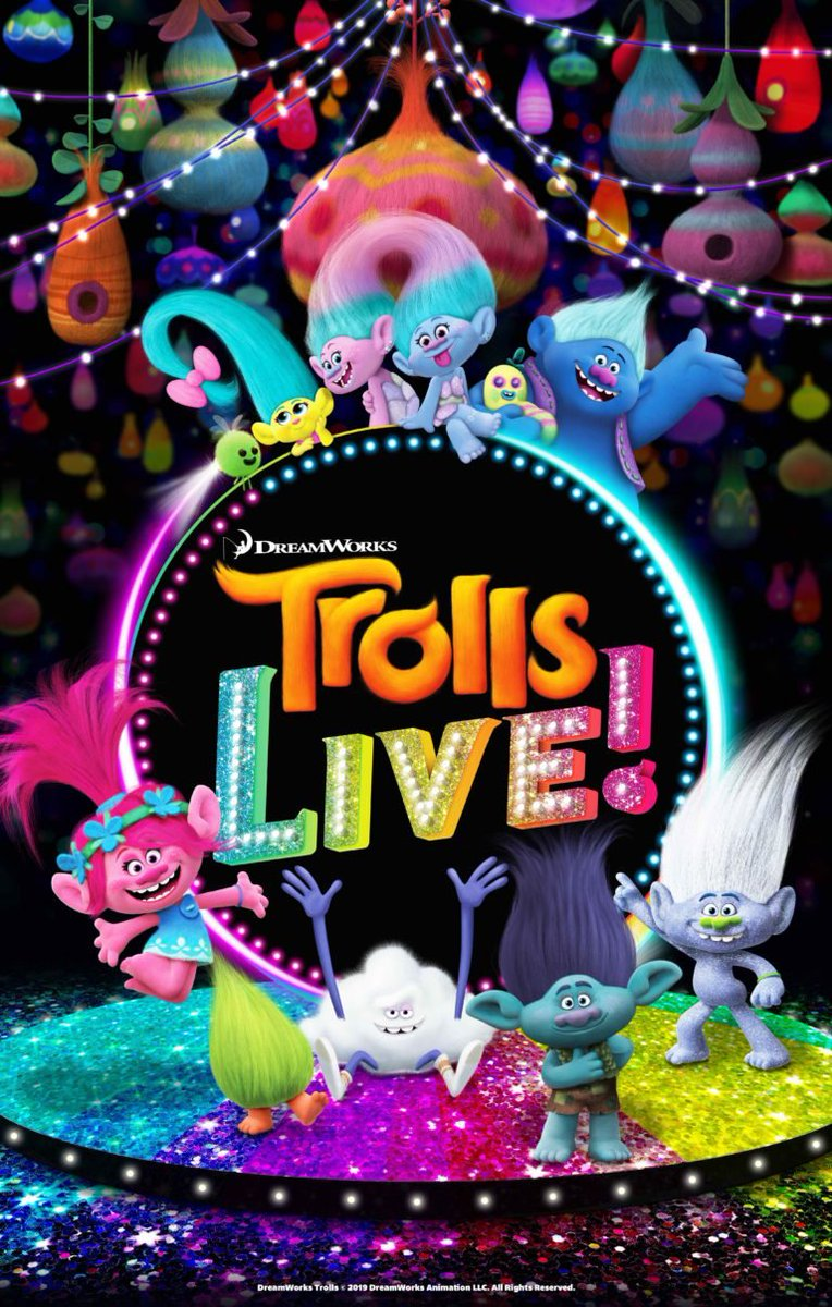 @TrollsLIVE #GiveawayAlert  Are you ready for? Head to  http:// bit.ly/32azkk5     and tell us the name of your favourite troll for the chance to #win 4 tickets for you and your family to see this epic show in Toronto!<br>http://pic.twitter.com/AY6KYKEydj