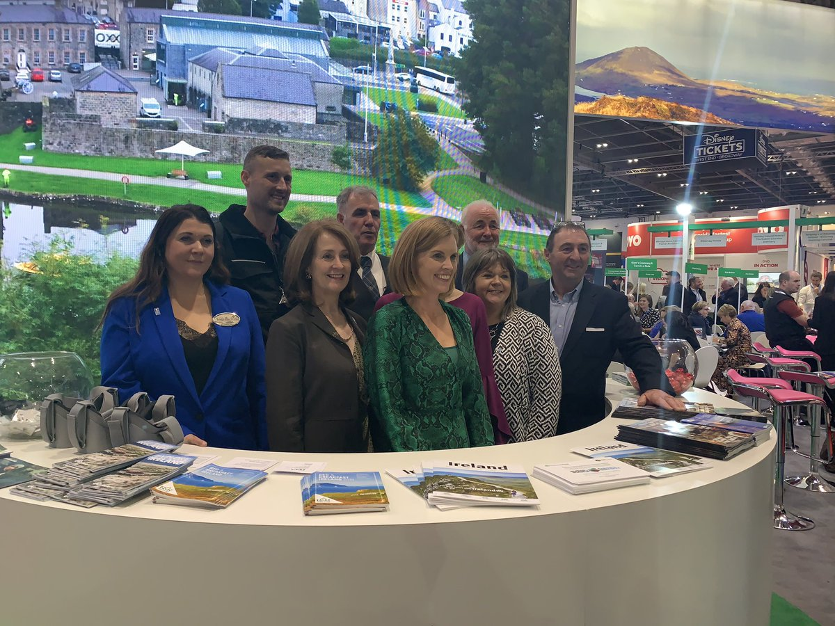 RT @TourismIreland: Great to have so many partners from #CausewayCoastalRoute with us @WTM_London https://t.co/rlpkyWJHGY