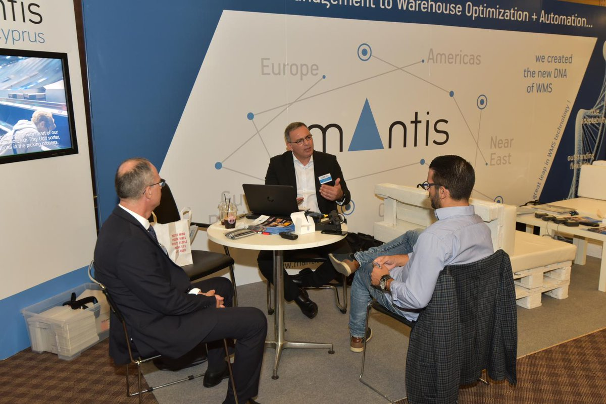 MANTIS (Cyprus) Ltd was a successful exhibitor at Supply Chain and Logistics Summit at Filoxenia Conference Center, Nicosia, Cyprus on October 31, 2019 #Cyprus  #logisticsvisionsuite @MantisWMS https://t.co/5Ifso0T65N