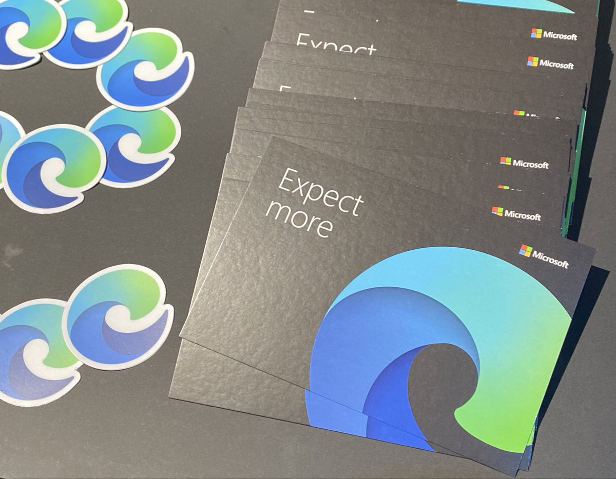 Who likes stickers? #MSIgnite