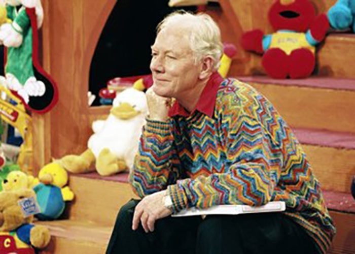 "Family WhatsApp: Mum: The voice of my childhood. Dad: My mum loved him listening in bed in the morn. Mum: Ah I know. He was the only voice in our kitchen every morning. Siblings: He""ll always be the Late Late Toy Show. Thank you for everything Gay Byrne. Rest in Peace 🕊"