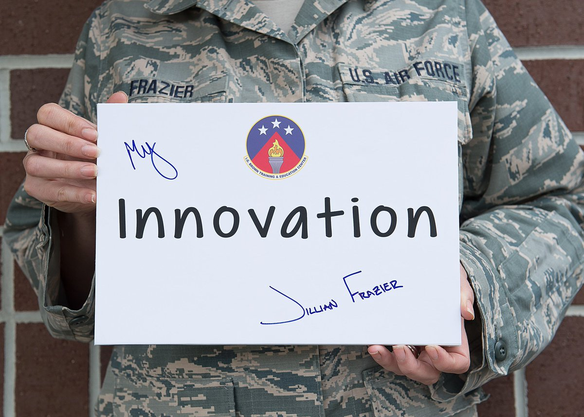 Our leaders have charged us with the duty of being open-minded to new suggestions and ways of doing things. Gone are the days of, Thats how weve always done it, and we need to embrace that. - Tech. Sgt. Frazier, @angtectv. Read more: bit.ly/2C8RjNr #InnovativeAF