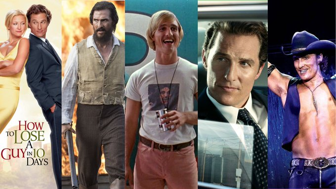 Alright, alright, alright. Happy Birthday, Matthew McConaughey! What\s your favorite Matthew McConaughey movie?