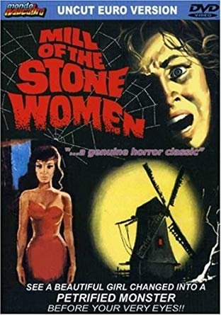 #ManiacMonday - MILL OF THE STONE WOMEN (1960) - A travelling reporter discovers a mad sculptor's sadistic hobby of turning helpless women into his own works of art! https://www.youtube.com/watch?v=yV9cRpQdDyA…pic.twitter.com/MUJSBI0egT