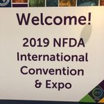 Image for the Tweet beginning: LifeArt at @NFDA Convention 2019,