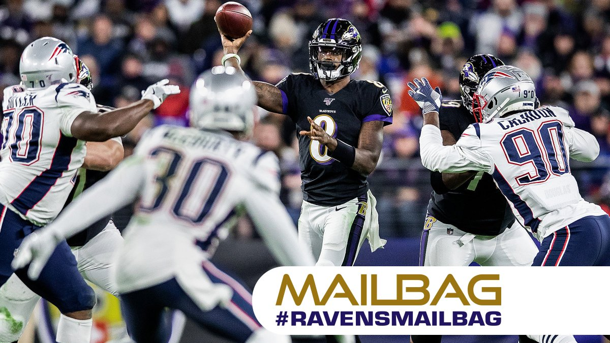 Tweet your questions for #RavensMailbag to have them answered in this weeks episode! 📭