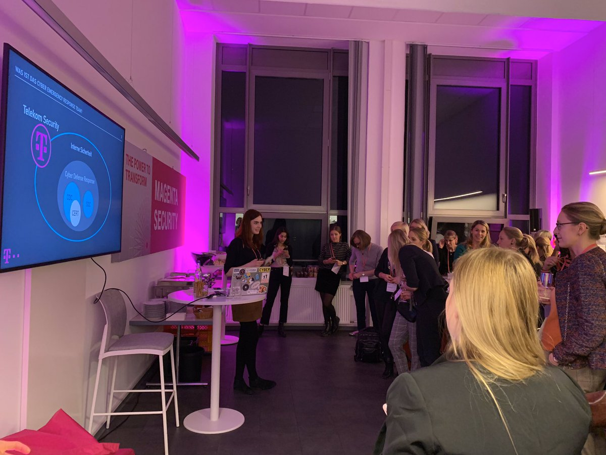 Social Media Post: ++ Global Digital Women Afterwork ++ Theresa Ludwig, Security...