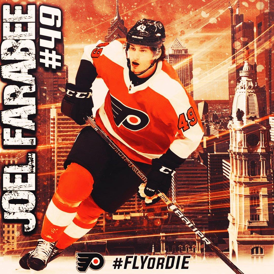 Joel Farabee @FarabeeJoel @NHL @NHLFlyers  #JoelFarabee #PhiladelphiaFlyers #Flyers #Letsgoflyers