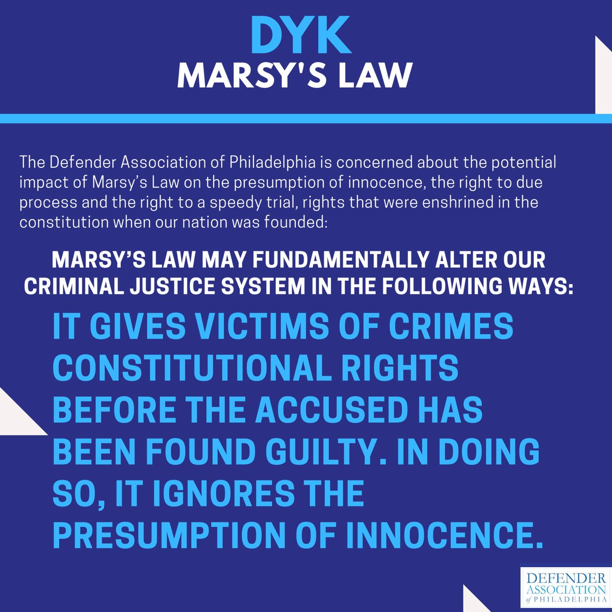 What we should know about #MarsysLaw the Crime Rights Constitutional Amendment.