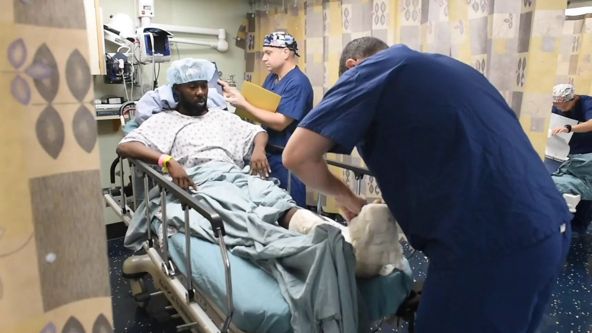 #USNSComfort does more than just make port calls; it changes lives. Hear firsthand how the #USNavy hospital ship and crew helped a Jamaican man get back on his feet during the ships latest medical mission in Kingston, Jamaica. #NavyPartnerships