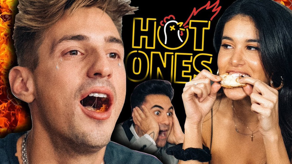 We did @seanseaevans & @firstwefeast HOT WINGS CHALLENGE & went through PURE MISERY!! 😂 RT for a SHOUTOUT! youtu.be/2KVzDTmCw2M