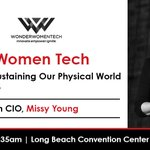 Image for the Tweet beginning: Switch CIO Missy Young, @MissyByte
