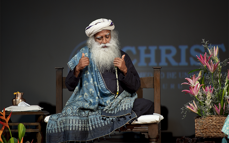 Thought and emotion are not separate entities. The way you think is the way you feel. #SadhguruQuotes