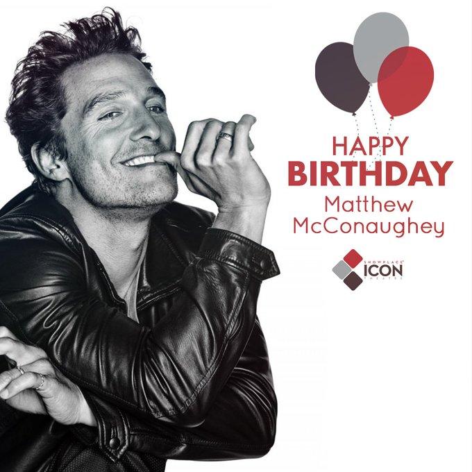 Alright! Alright! Alright! Happy birthday, Matthew McConaughey.   Visit us: