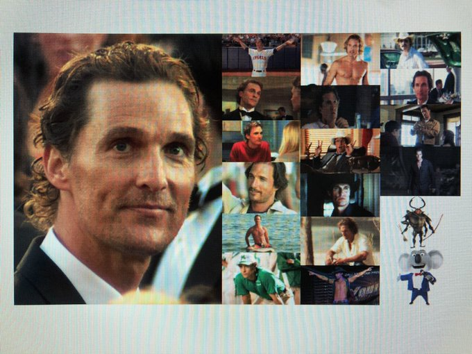 Happy 50th Birthday to actor and producer, Matthew McConaughey!
