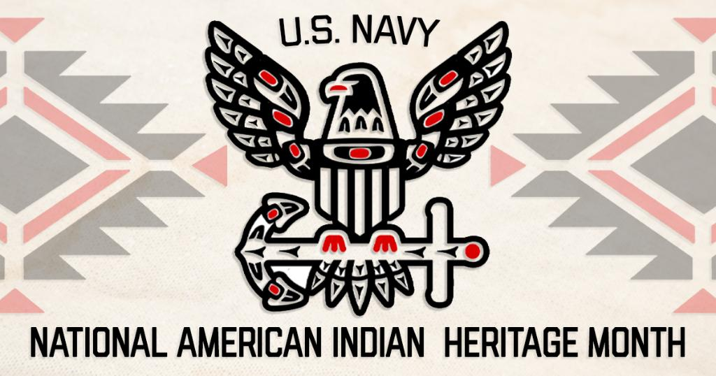 November is #NativeAmericanIndianHeritage Month. Help us honor the culture and achievements of Native American Sailors who have and continue to serve in the #USNavy. history.navy.mil/browse-by-topi…