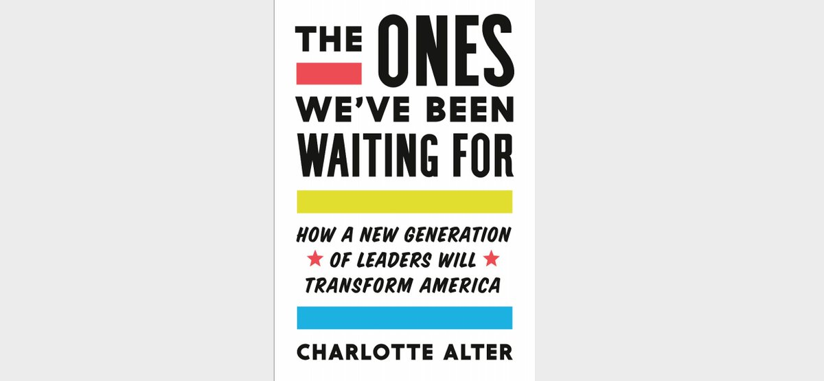 Now that there's a blood feud between boomers and millennials, it's time to remember that: 1) one day millennials will run America (fact) 2) you should pre-order my book (out 2/18!) to learn more about what America might look like when they're in charge  https://www.penguinrandomhouse.com/books/598359/the-ones-weve-been-waiting-for-by-charlotte-alter/ …