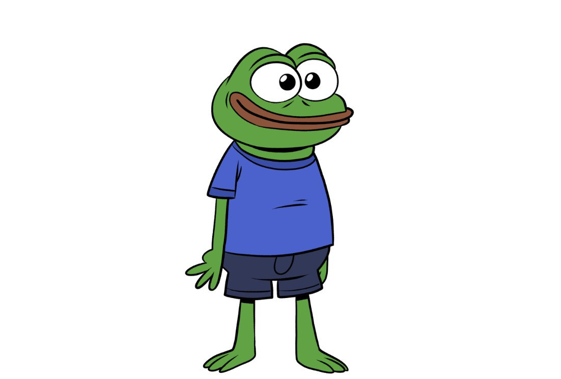 Mike On Twitter I Drew Pepe The Frog As A Marketable Children S Cartoon Character
