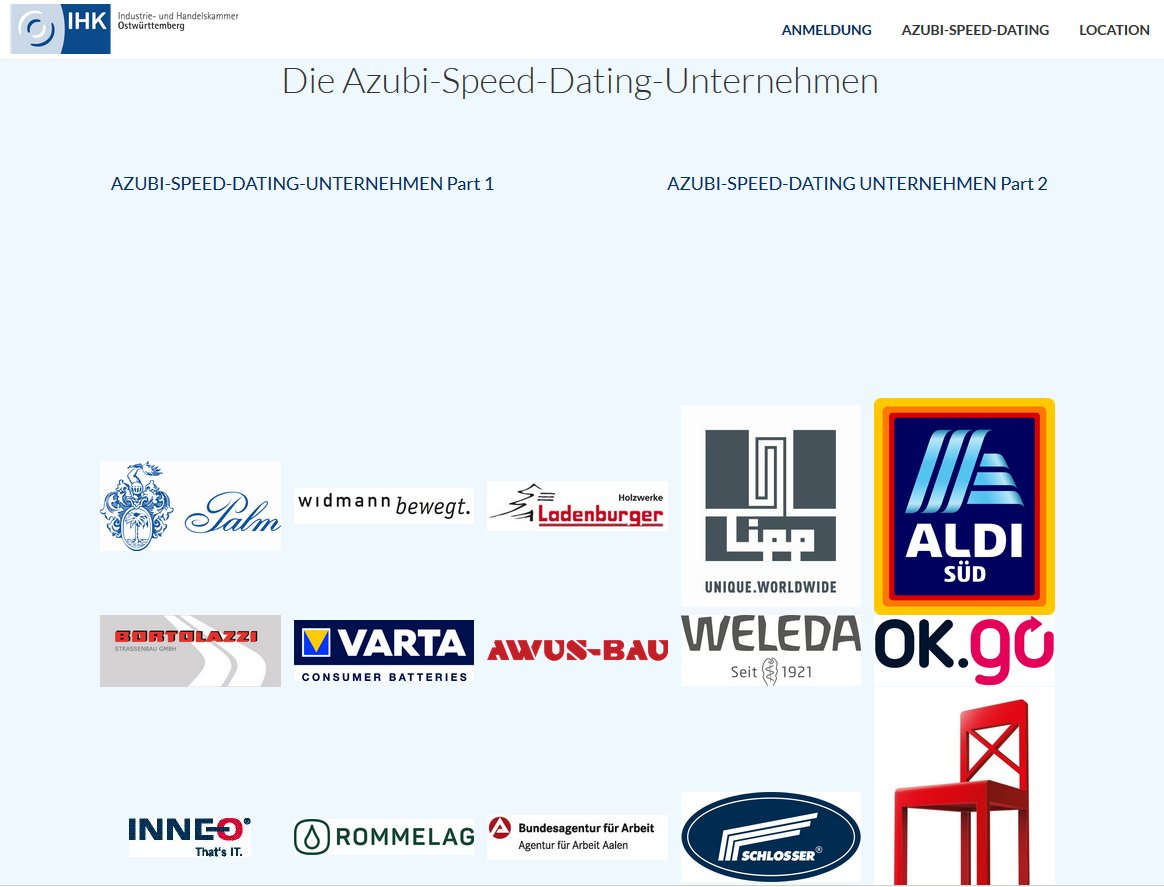 Ihk azubi speed dating Hamburg