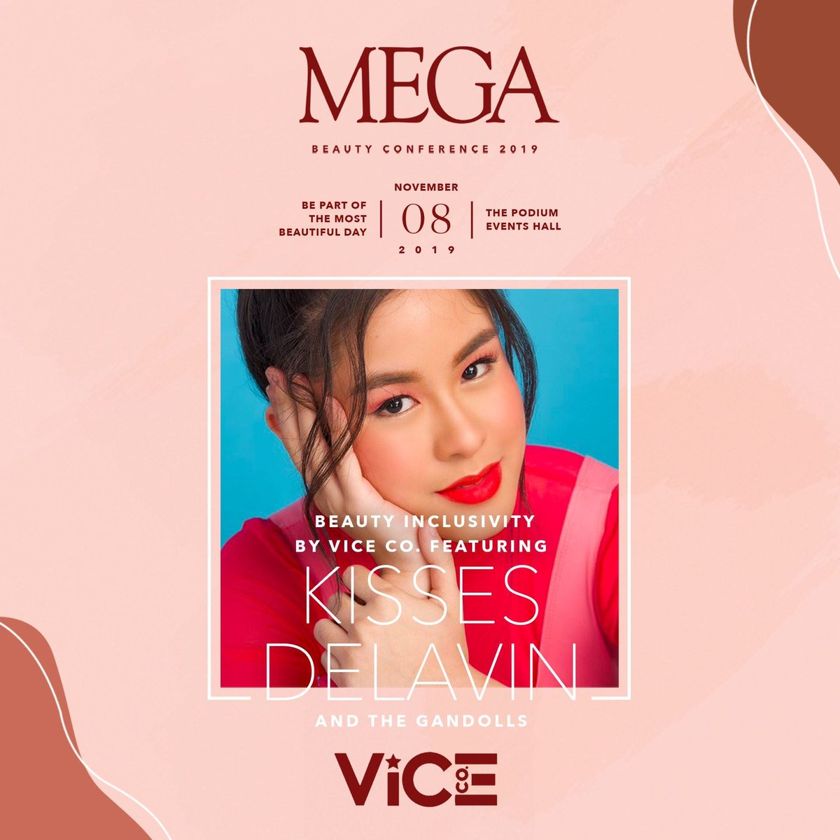 Get a chance to meet and greet #KissesDelavin ( @KissesDelavin ) at the biggest and most beautiful day this #MEGABeautyCon2019!  Click here to register:  https:// bit.ly/32gO7tR      See you at The Podium Events Hall on November 8, 11am-8pm!  Also available, MEGA mag featuring Kisses.<br>http://pic.twitter.com/PvrZSi2ZHK