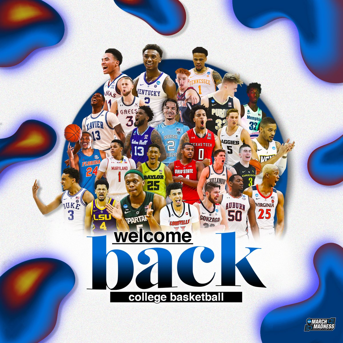 Welcome back, college basketball. You've been missed.  RT if you're excited for the season starting!