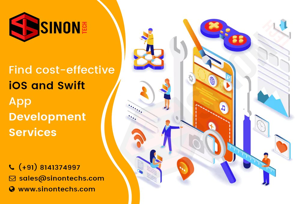 Find Cost-effective IOS and Swift App Development Services   https:// bit.ly/2kT1cK3       #sinontech #WebsiteDevelopment #LaravelDevelopment #phpdevelopment #php #phpdevelopmentservice #MobileAppDevelopment #AngularJSdevelopment #seo #digitalmarketing #reactnativedevelopmet<br>http://pic.twitter.com/en38pxos0u