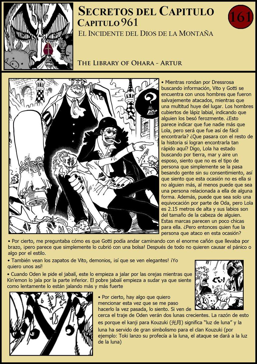Secretos & Curiosidades - One Piece Manga 961 EIlmNaeXYAA0RPO