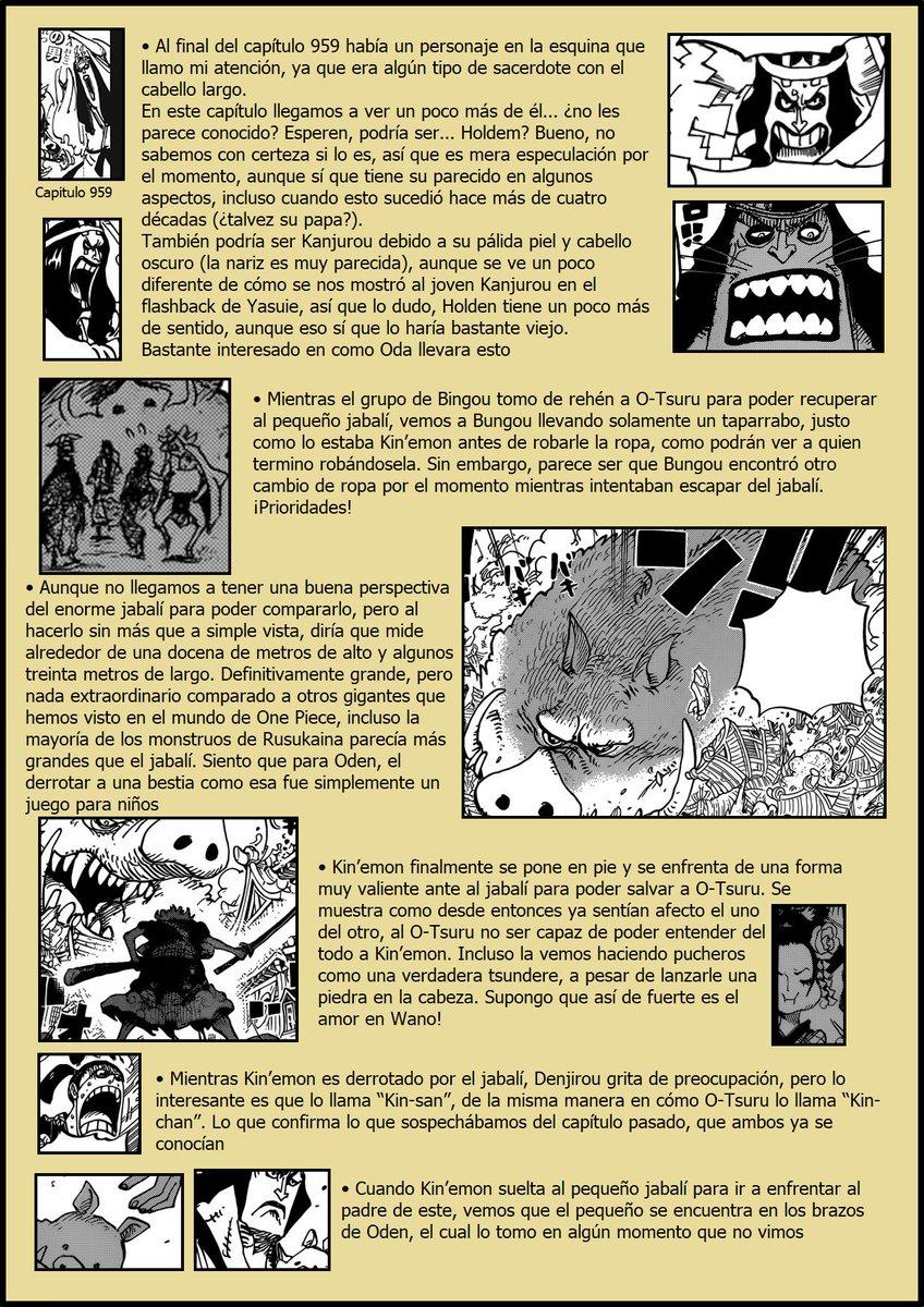 Secretos & Curiosidades - One Piece Manga 961 EIlmNafXkAAnybh