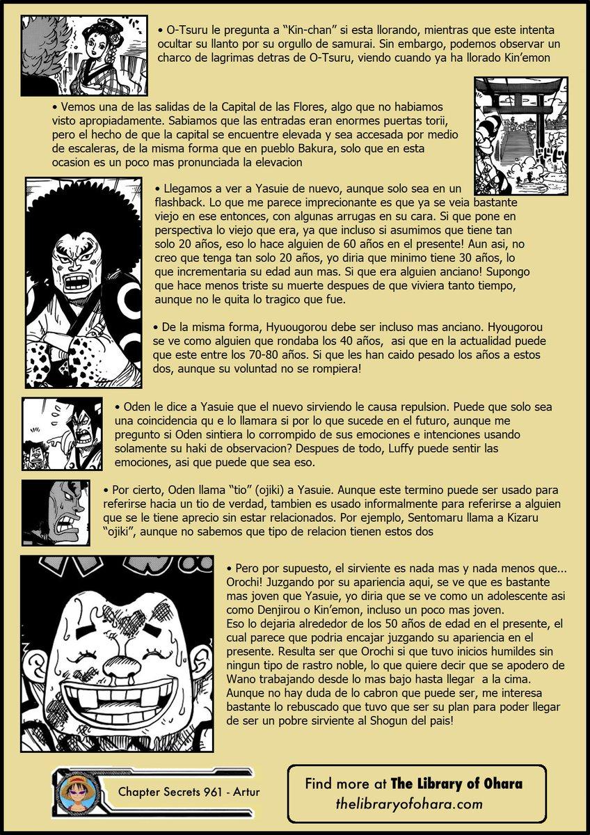 Secretos & Curiosidades - One Piece Manga 961 EIlmNagW4AA3n8n
