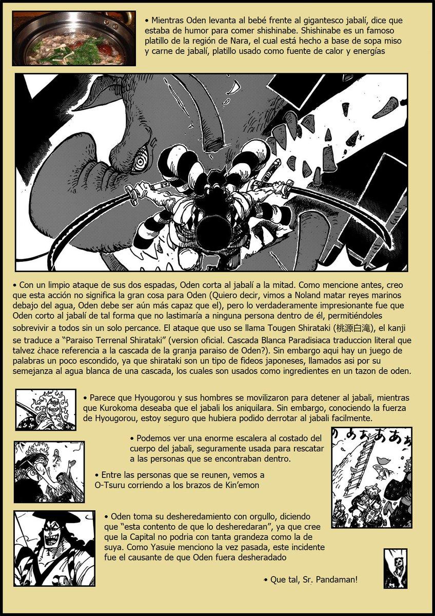 Secretos & Curiosidades - One Piece Manga 961 EIlmNagXYAoTjcD