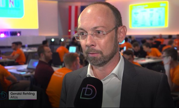 WKO #CodingDay  Gerald Rehling, Head of Infrastructure and Data Management bei #Atos...