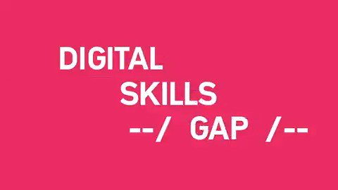 Image for the Tweet beginning: Europe faces a large #digitalskills