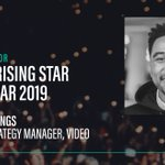 Shout out to @Captify's Campaign Strategy Manager for Video, Jordon Mullings, who's been shortlisted for @exchangewire's 'Ad Tech Rising Star' award 🎉. Make Jordy's week by voting for him 👉 https://t.co/HizibNXwg1 #TheWires #Awards #Adtech