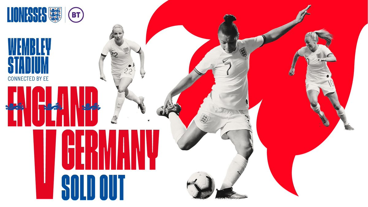 Saturday is going to be EPIC!! The @Lionesses are playing at Wembley and it's SOLD OUT 🙌🏽.. I will be watching from Elstree as I keep trying to fly the flag for womens footie on @bbcstrictly Catch the game live on BBC1 & Strictly straight after 💃🏽⚽️