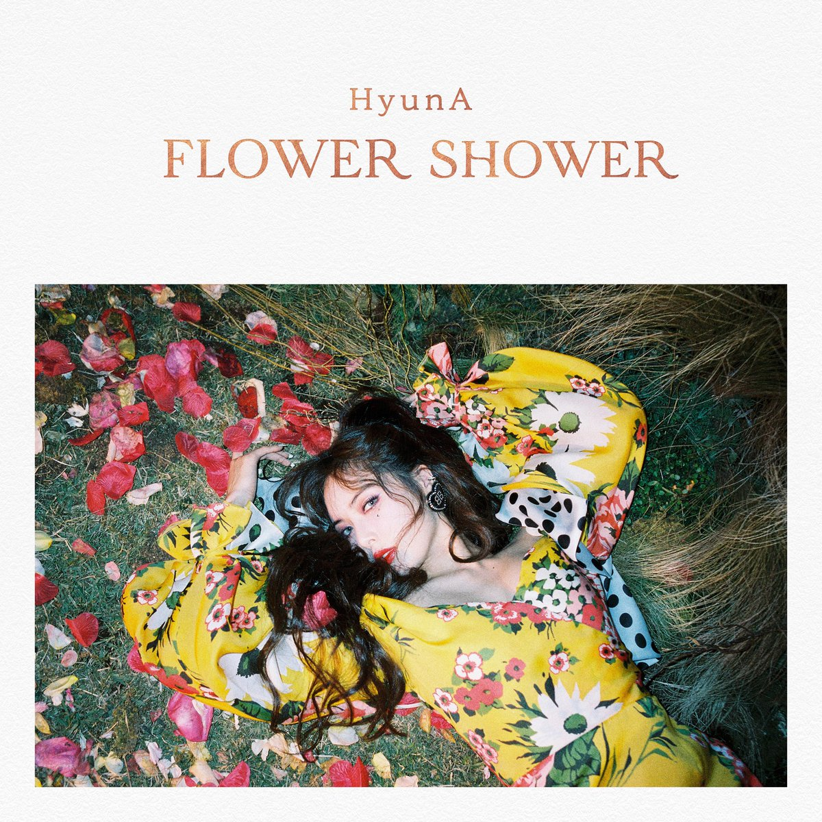 [HyunA] HyunA FLOWER SHOWER OUT NOW youtube.com/watch?v=8xqSz6… . . . #HyunA #현아 #FLOWERSHOWER #20191105 #0600pm_kst #PNATION