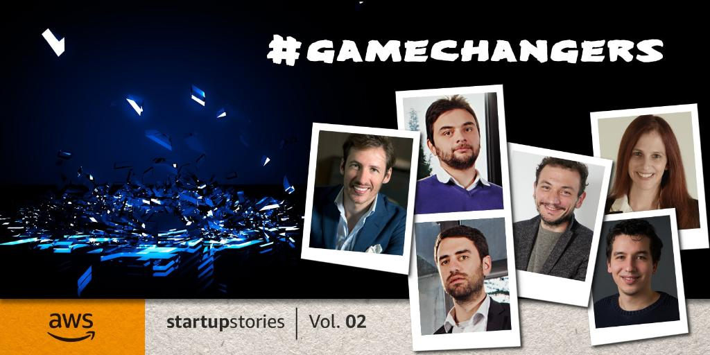 Whether they're challenging the banking industry, or making brand engagements smarter, these founders from @dataiku @Relay42 @optioai @CredimiPMI & #SafeDK never quite settle for 'just good enough'. Read their stories: https://t.co/s5fi5ywrI7  🚀#AWSStartupStories https://t.co/FtOay218f7