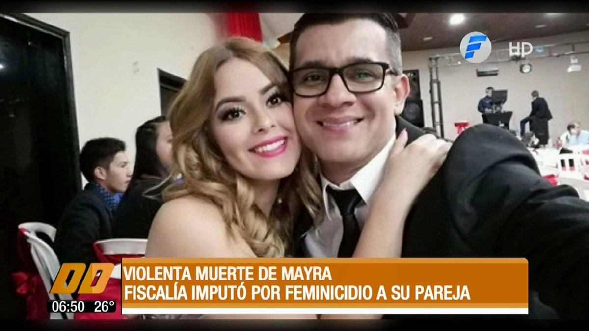 "Telefuturo Informa en Twitter: ""Violenta muerte de Mayra. La Fiscalía  imputó por feminicidio a su pareja. #DiaADiaPy en vivo  https://t.co/trMHT6h5xx #TelefuturoPy… https://t.co/b52ZCy4Qc6"""