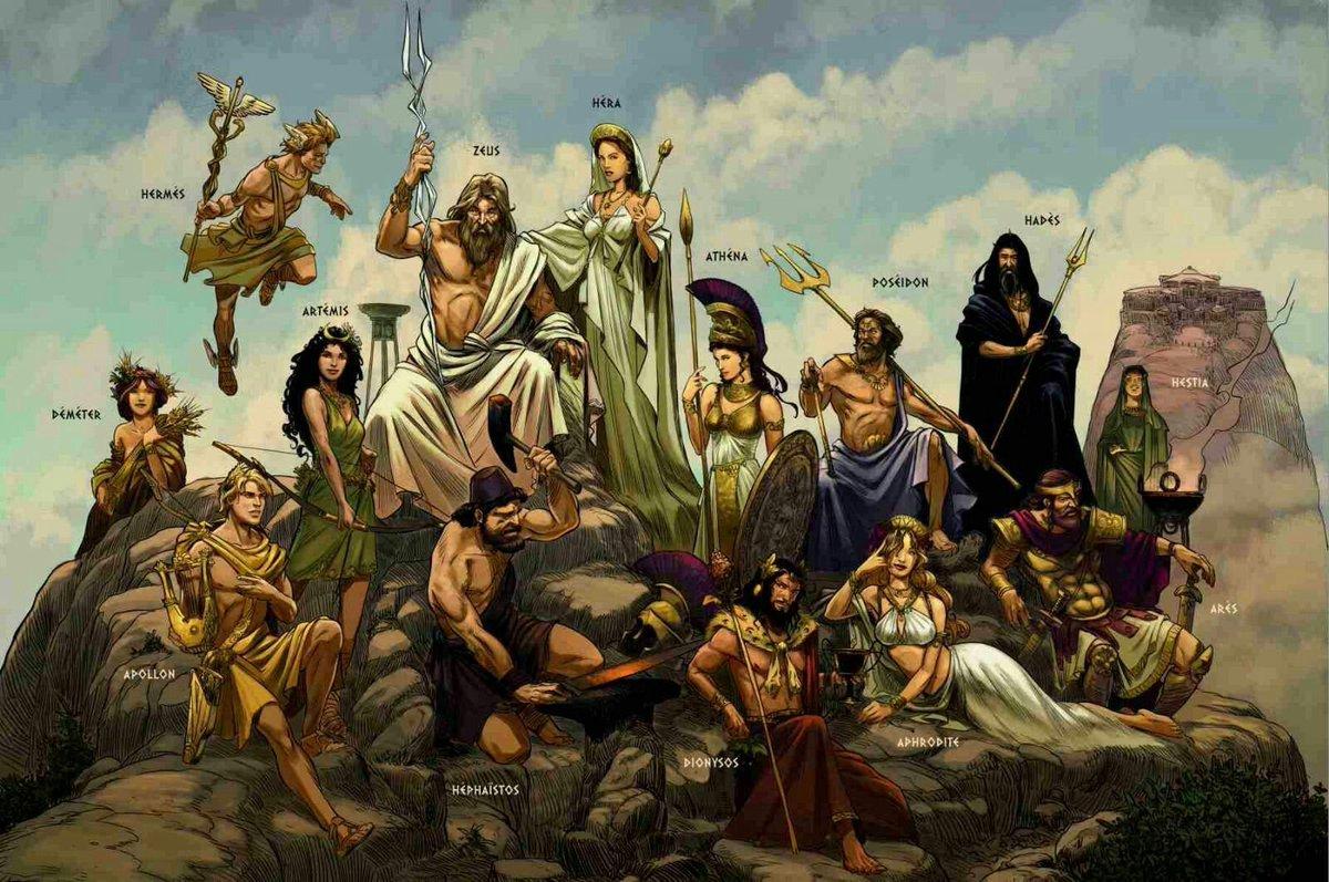 Картинки древнегреческих богов и богинь