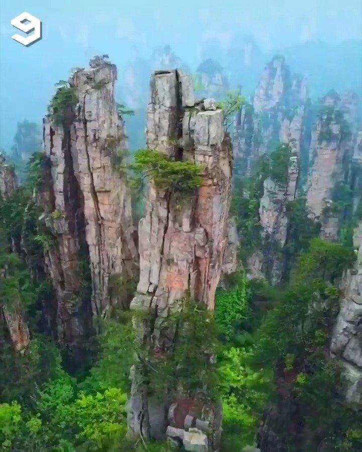 Zhangjiajie, home of Avatar ✨