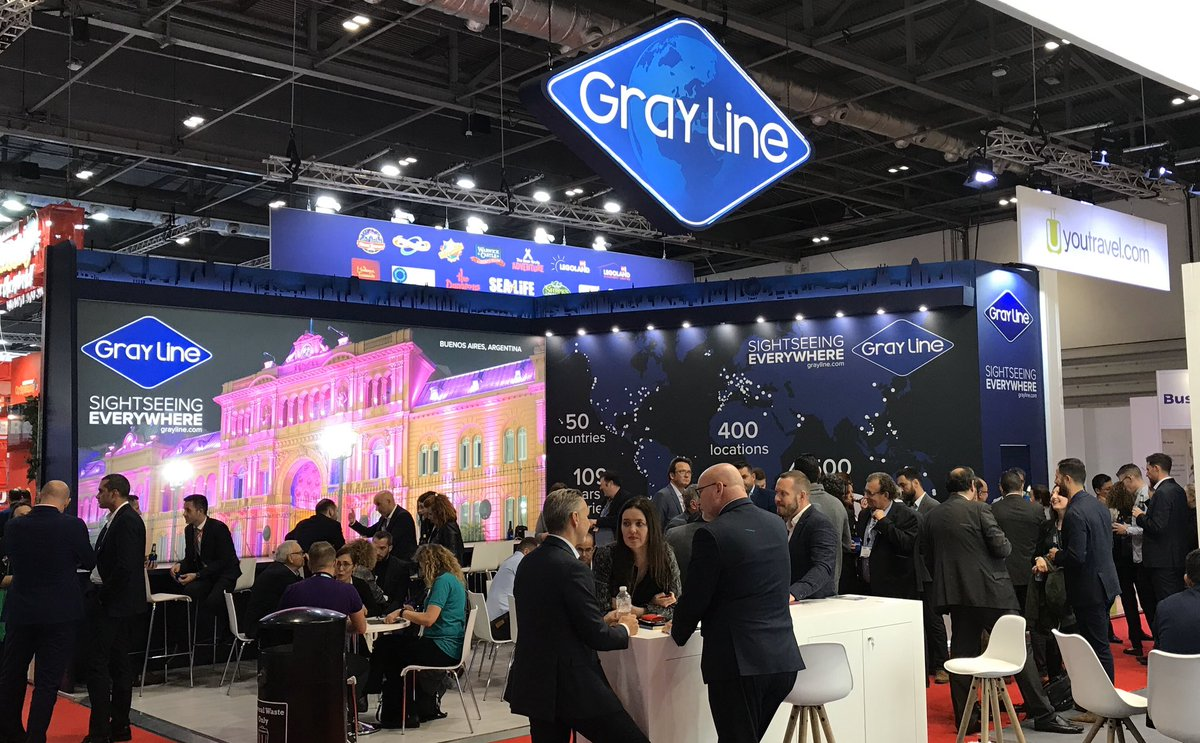Come see us at booth TA 161 today if you missed us yesterday at #wtm #WTMLDN #WTMLondon #WTM40 #Sightseeing #Tourism #SightseeingEverywhere #GrayLine