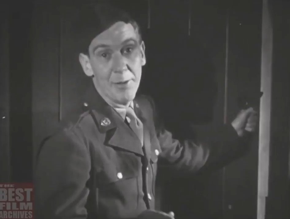 This is a US Military training video that was shown to US soldiers in 1943 before being stationed in Britain. How to Behave in a British Pub - presented by Burgess Meredith, later of Batman and Rocky fame.
