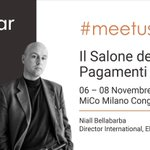 Image for the Tweet beginning: Ciao #salonepagamenti – our Director