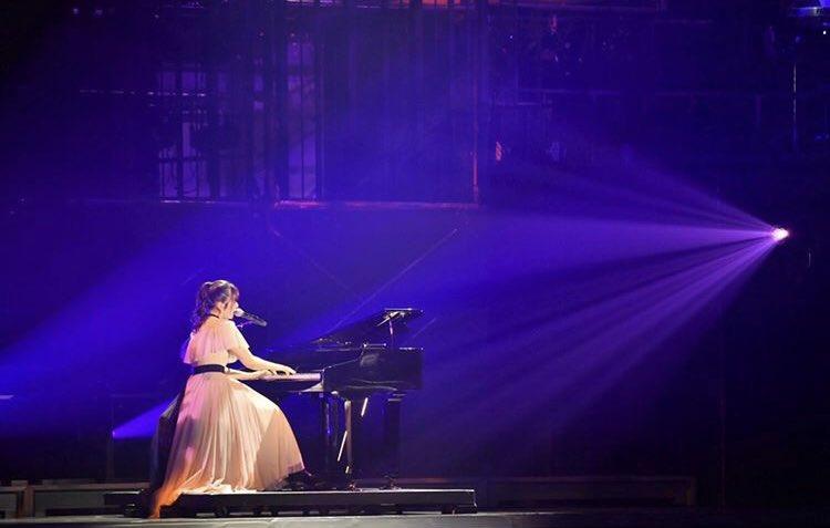 かれんちゃんの歌とピアノ感動したな~✨ もう一度聞きたい💗  #リトグリ余韻