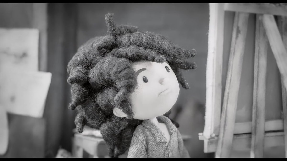 A little girl's black and white world turns bright and beautiful. #NFF2019 @norwichfilmfest Try not to smile and feel good about the world.   https://www. norwichfilmfestival.co.uk/events/2019-ev ents/animated-shorts-for-kids-suitable-for-ages-7-12/  … <br>http://pic.twitter.com/PIYT8EfW5R