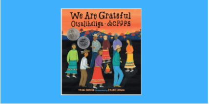 test Twitter Media - We at TeachingBooks are thankful for so much and we like to hear what other people are grateful for too. Take a listen to the Meet-the-Author Recording with Traci Sorell about We Are Grateful: Otsaliheliga at https://t.co/mCDcRjMSqT. https://t.co/16oJZAKMMT