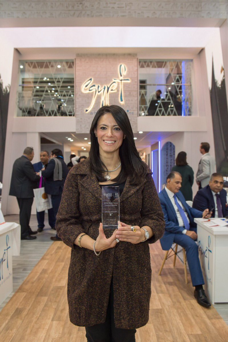 Rania A Al Mashat On Twitter Congratulations Egypt S Ministry Is Tourism For Winning The Wtm London 2019 Global Leaders Award For Oustanding Contribution To The Industry Over The Last 24 Months Representing Another